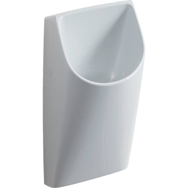 Smyle urinal, waterless, outlet to the rear
