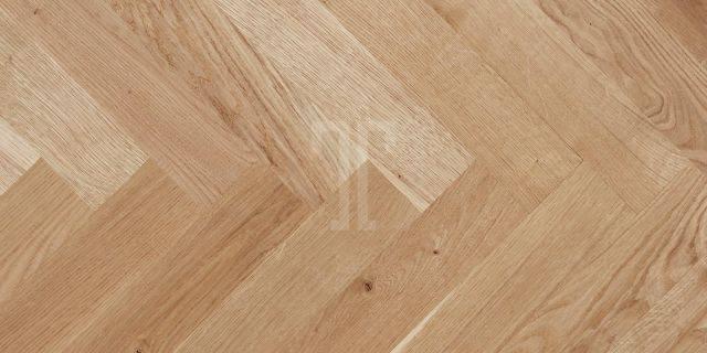 UNFINISHED OAKS Collection - Herringbone (Solid Hardwood)