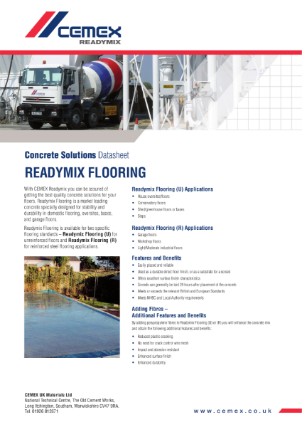 Readymix Flooring