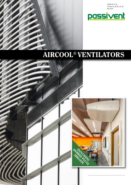 Passivent Literature - Aircool Ventilators