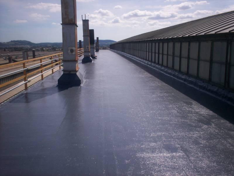 Hybrid Roofing Solution for Manufacturer