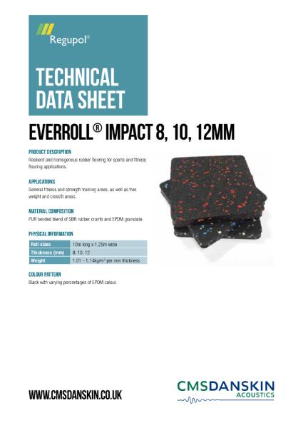 CMS Danskin Acoustics everroll Impact TDS