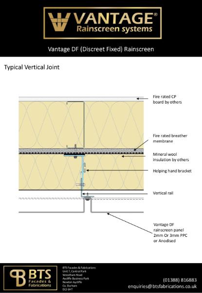 Vantage DF System Details