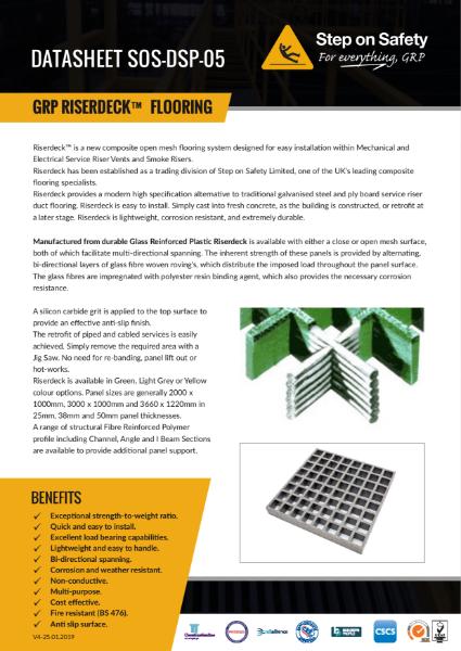Riserdeck GRP Flooring