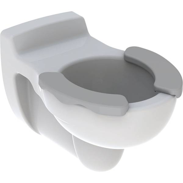Geberit Bambini wall-hung WC for children, washdown, with seat pads