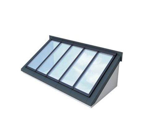 Wall-mounted Longlight 5–40° Modular Skylight