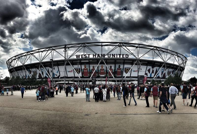 THE LONDON STADIUM AT QUEEN ELIZABETH PARK