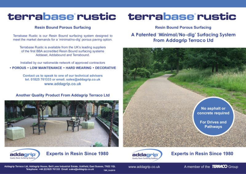 Terrabase Rustic Resin Bound Surfacing Brochure