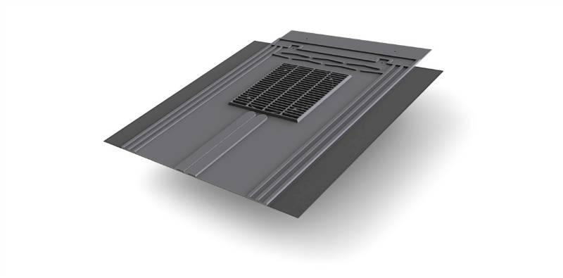 Glidevale Protect Universal In-line® Slate Ventilator