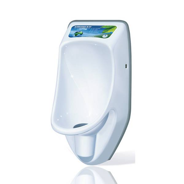 Urimat Compactplus Waterless Urinal c/w Hydrostatic Siphon