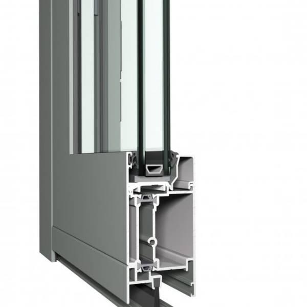 Aluminium Door ES 50 Eco System