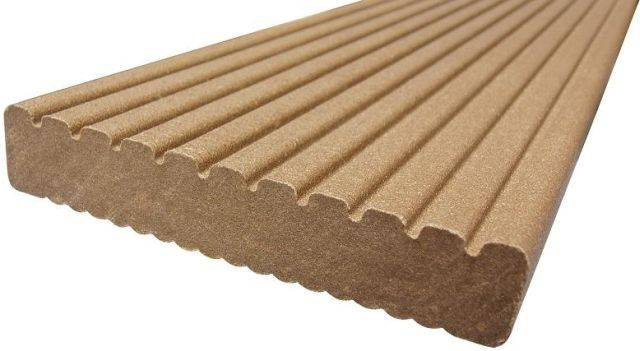 ecodek® Signature Reversible Composite Decking Board - Heavy Duty (HD)