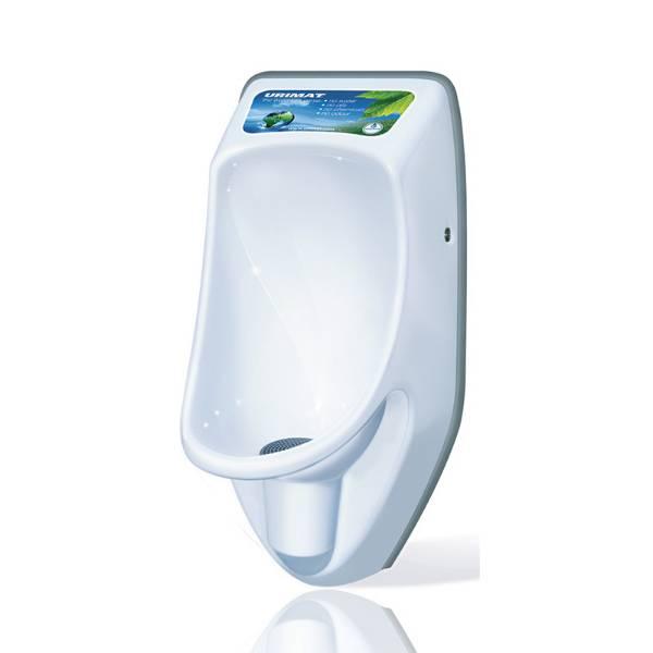 Urimat Compactinfo Waterless Urinal c/w Hydrostatic Siphon