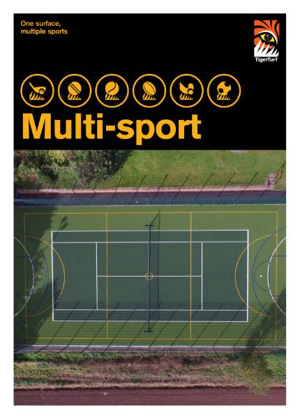Artificial Grass - Multi-Sport Brochure