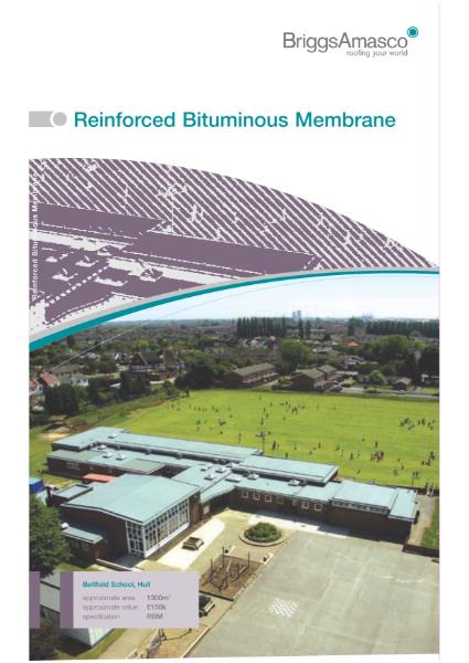 Reinforced Bituminous Membrane