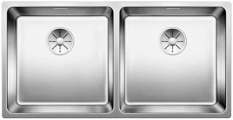 Andano Stainless Steel Inset Double Bowl