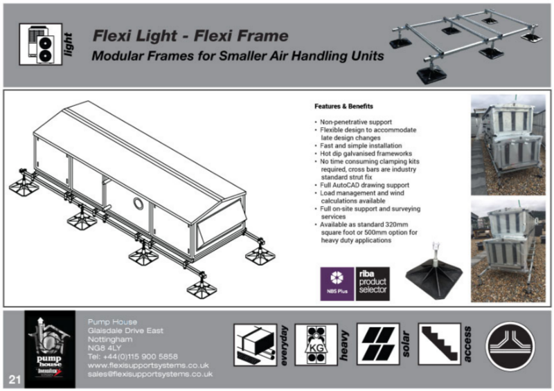 Flexi Light - Flexi Frames (Base & Extender Frames for A/C Split Condensers).