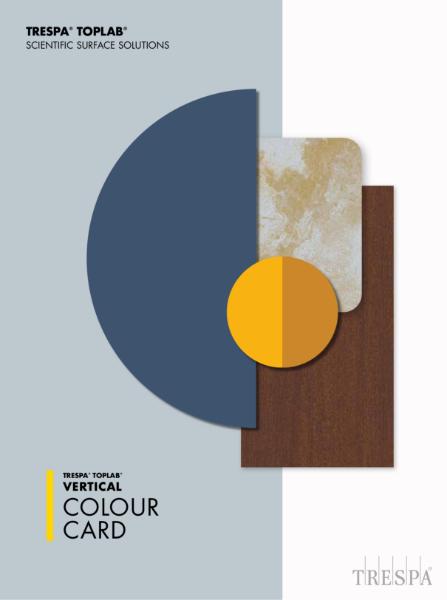 Trespa® TopLab®VERTICAL colour card