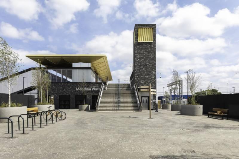 NR Meridian Water Station, Enfield