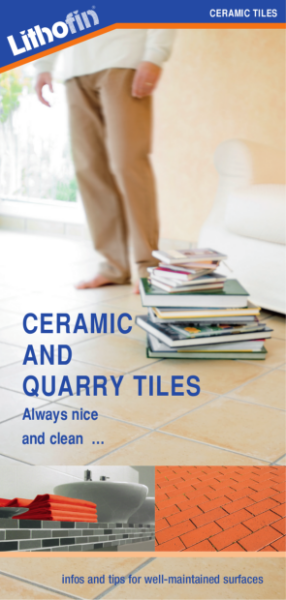 Cleaning, Protecting & Maintaining Ceramic and Quarry tiles