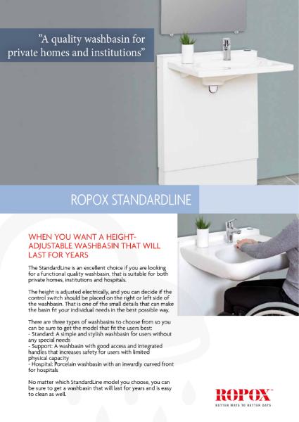 Ropox StandardLine washbasin