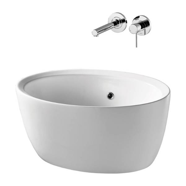 Cannobino 64 cm Vessel Washbasin