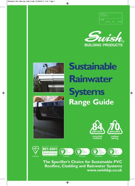 Swish Sustainable Rainwater Systems