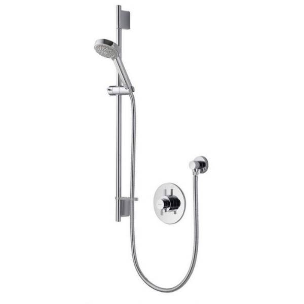 Aspire DL concealed mixer shower with adjustable head