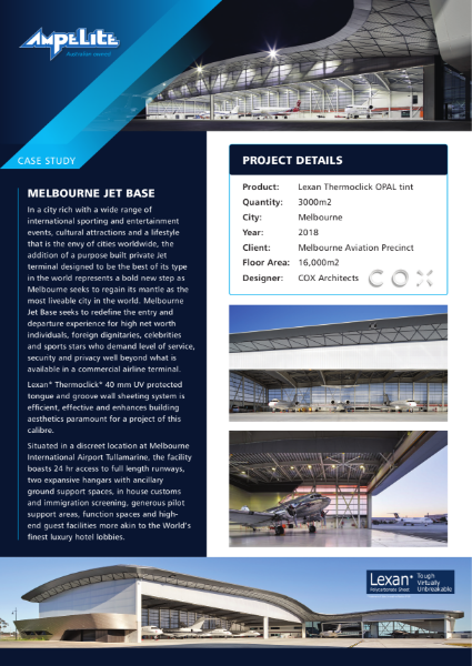 Case Study - Melbourne Jet Base
