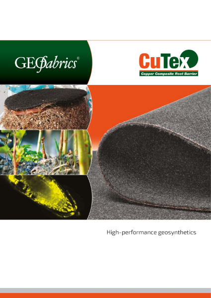 CuTex Root Barrier - Product Brochure