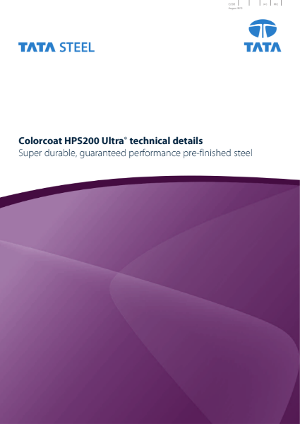Colorcoat HPS200 Ultra Technical Brochure