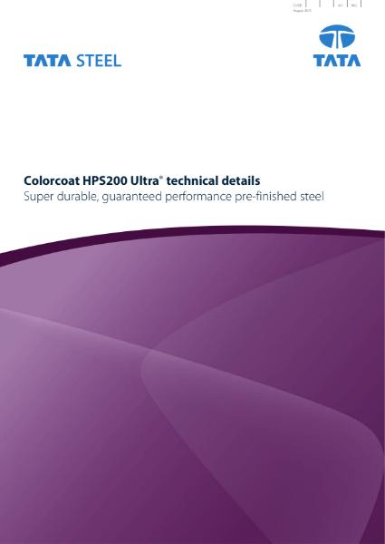 Colorcoat HPS200 Ultra Technical Brochure
