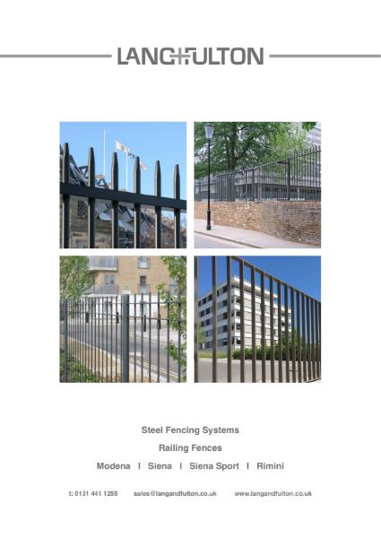 Railing Fences: Modena, Siena, Siena Sport & Rimini