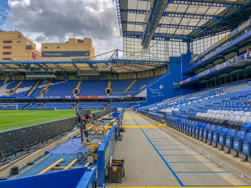 Chelsea Football Club - Ebema Concrete Paving