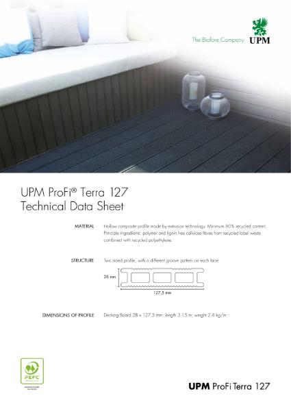 UPM ProFi Terra 127 Technical Specification