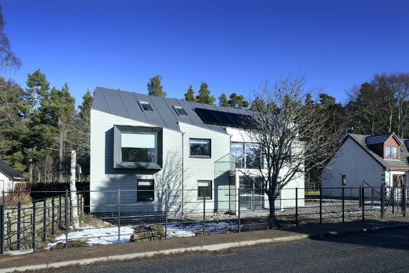 Accoya chosen for a private residence in Cairngorms National Park