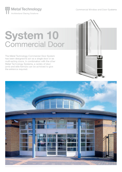 Aluminium Commercial Door