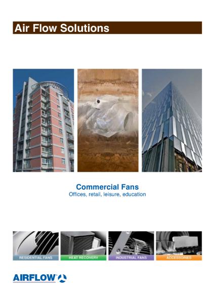 Commercial Fans