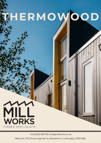 Millworks Thermowood Cladding