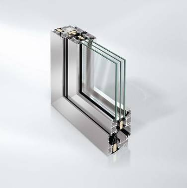 Highly thermally insulated aluminium bi-fold door system - ASS 80.HI
