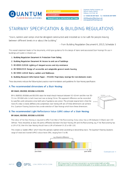 Building Regulations & Stairways Explained 2020