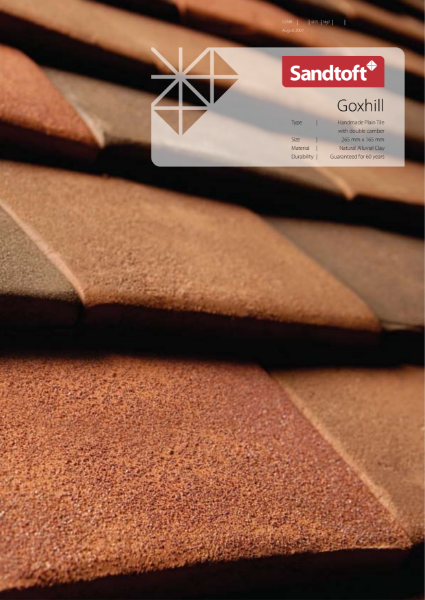 Goxhill Handmade Plain Tile with Double Camber