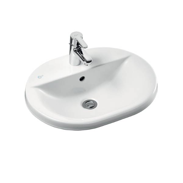 Concept Oval 55 cm Countertop Washbasin