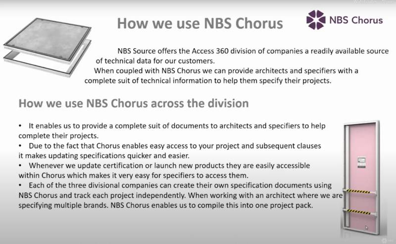Successful collaboration with NBS - Access 360