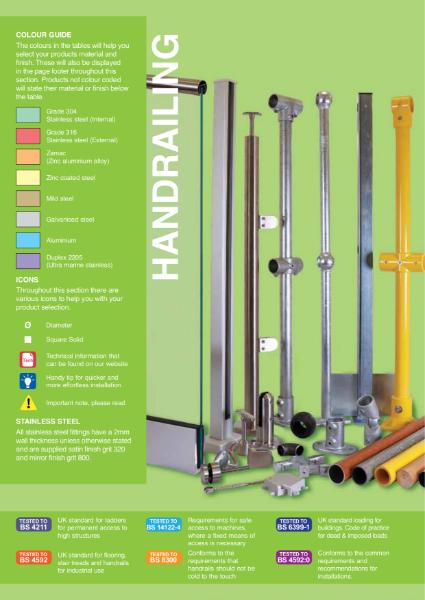 002 - Handrailing