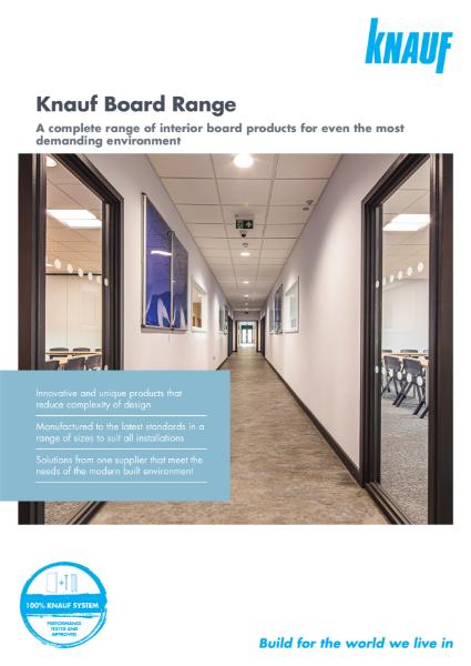 Knauf Board Range Brochure