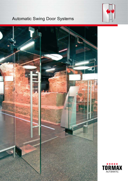 Automatic Swing Doors - commercial, retail, healthcare, education and leisure applications