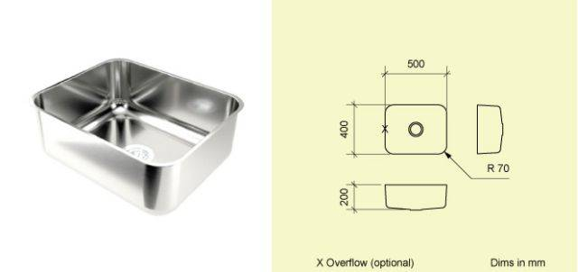 Sink Bowl BE50