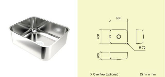 Sink Bowl BE50