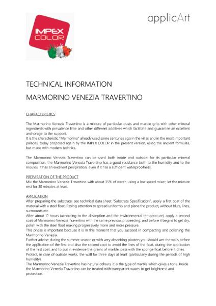 Polished Plaster - Marmorino Venezia Travertino - Natural & Textured